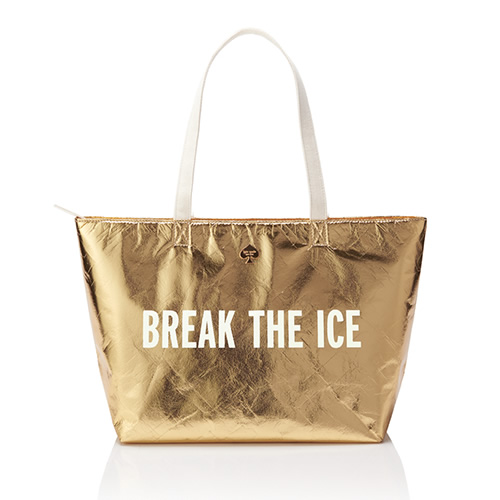 Gold Cooler Bag in Break the Ice 1