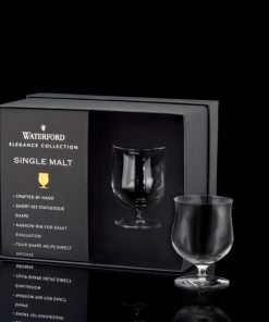 Elegance Single Malt Glass Pair