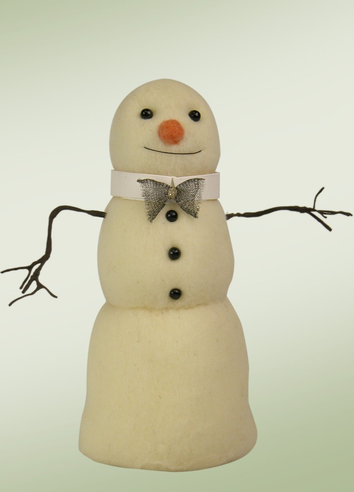 Large Felted Snowman