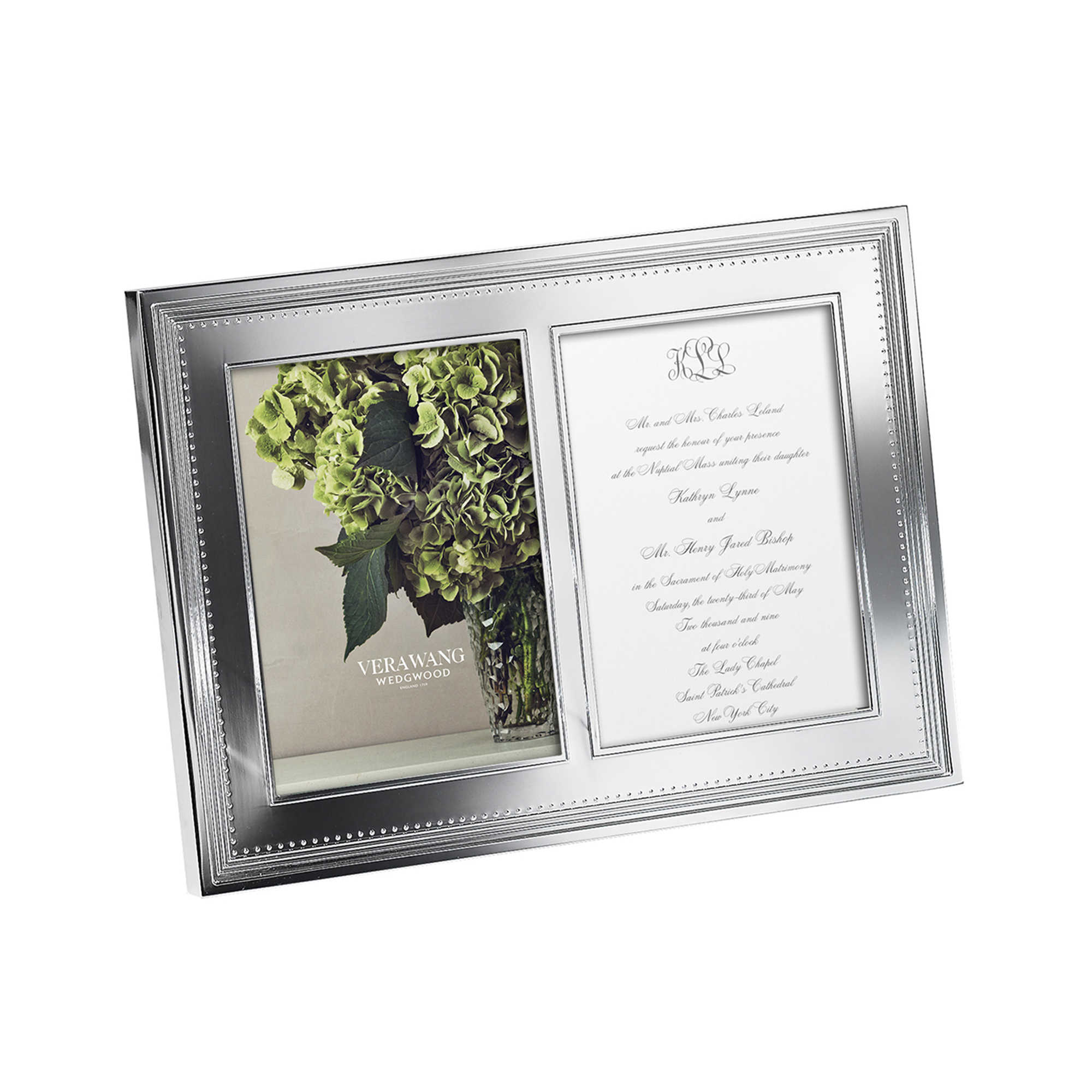 Vera Wang by Wedgwood Grosgrain Double Invitation Frame – Avondale ...