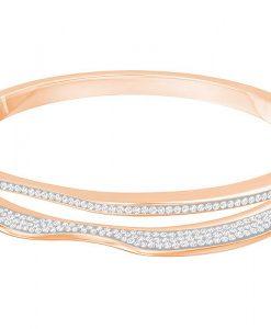 Swarovski-Hilly-Narrow-Bangle-White-Rose-gold-plating-5350668-W600