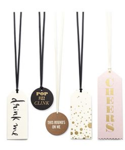 Cheers Wine Tag Set